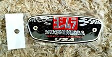 YOSHIMURA USA MOTORBIKE / MOTORCYCLE HEATPROOF EXHAUST STICKER / DECAL