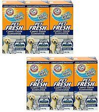 6 Arm & Hammer Oxi Clean Dirt Fighters Pet Fresh Carpet Odor Eliminator 18 oz ea
