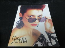 Sheena Easton 1987 World Tour Program Book Signed Copy 80's Pop Synth
