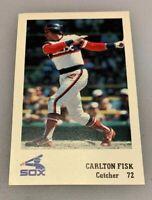 Chicago White Sox 1983 True Value SGA Carlton Fisk 72 HOF Team Issued