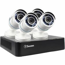 Swann SWDVK-HDHOMK84-US 8 Channel 720P 500GB Security DVR w 4x 720p Cameras NEW