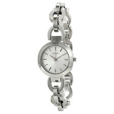 NWT DKNY Women's Watch All Silver Stainless Steel Chain STANHOPE NY2133 $115