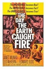 "The Day The Earth Caught Fire Sci-Fi Movie Poster 12"" x 18"""