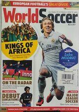 World Soccer UK March 2017 Luka Modric World's Best Midfielder FREE SHIPPING sb