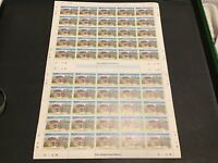 Nevis Croney's Old Manor Hotel  MNH full Stamps Sheet folded Ref 49788