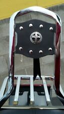 Motorcycle Sissy Bar Cover Harley Softail Dyna SportsterTouring or Universal