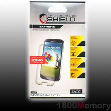 ZAGG Invisible Shield Extreme Screen Protector for Samsung Galaxy S4 Front Only