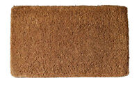 "DOOR MATS - PLAIN DOORMAT - 14"" X 24"" - COIR DOORMAT - PLAIN WELCOME MAT"