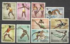 7494-SERIE COMPLETA BURUNDI AFRICA AÑO 1964 Nº102/11.OLIMPIADAS TOKIO.DEPORTES,S