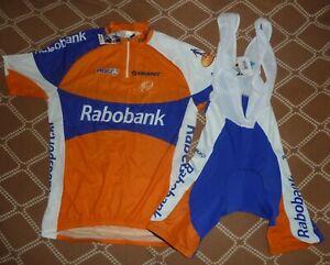 Rabobank Cycling Team UCI Word Tour 2010's,L Agu jersey Bib Shorts