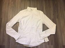 Lululemon 10 Fresh Tracks Jacket White New Full Zip NWT $128 Brand New Sold Out