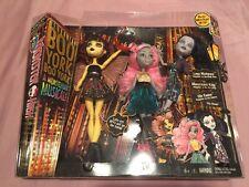 Monster High 3 Pack Boo York Boo York Luna Matthews Mouscedes King Elle Eedee