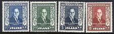 ICELAND 1952 Björnsson set  MNH / **