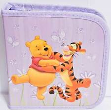 Disney Winnie The Pooh Tigger Holds 24 CD or DVD Case