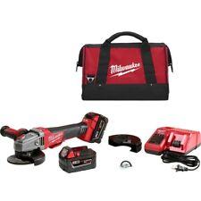 """Milwaukee 2783-22 M18 FUEL Cordless 4-1/2"""" / 5"""" Braking Grinder Tool Kit"""