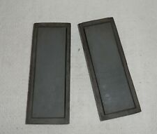 2 Vintage Sharpening Stones Arkansas with Wooden Case