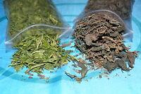 Crusta-Mix: Spinat + Brennnessel je 5, 10 oder 20g für Garnelen Krebse Welse