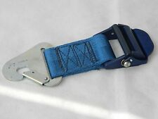 RAF Aircraft Seat Right Hand Outer Lap Strap With Blue Buckle [3R7B]