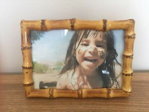 20% Off Bamoo root photo frame Nature Colour Was $10
