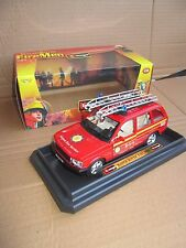 BBURAGO BURAGO MADE IN ITALY 1/24 1/25 Land Rover RANGE ROVER FIRE MEN airport