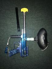 Spyder Victor II Blue Semi Automatic Paintball Gun/Marker *USED*