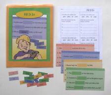 Evan Moor Phonics Center Resource Game Word Families: ead, ew, ain, & air
