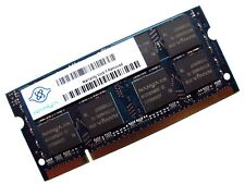 Nanya NT2GT64U8HD0BN-3C 2GB 2Rx8 200-Pin SODIMM PC2-5300S-555 DDR2 Laptop Memory