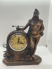 antique united self starting electric clock majorette twirling baton 1950's
