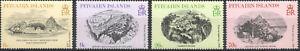 Pitcairn Islands 1979, Art Engravings Nature MNH 5361