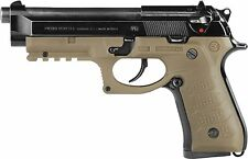 Recover Tactical BC2 Rail System for Beretta 92, 96, 98, M9 Series Pistol TAN