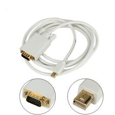 6Ft Mini Displayport Thunderbolt Compatible Male to VGA Male Cable for Mac