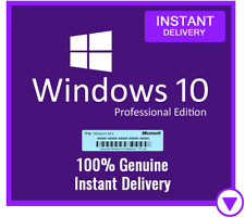 Win 10 Pro Professional 32/ 64bit Genuine License Key Product Code