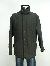 Barbour chaqueta talla L/marrón oscuro & modelo: polar Quilts-como nuevo (n 7934)