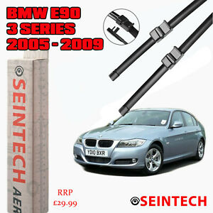 """BMW 3 SERIES E90 2005-2009 SPECIFIC FIT FRONT WINDSCREEN WIPER BLADES 24""""19"""""""