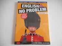 DVD NEUF-ENGLISH NO PROBLEM /DEBUTANT N°2 -INCLUS 1 DVD + 1 LIVRE + 1 COURS AUDI