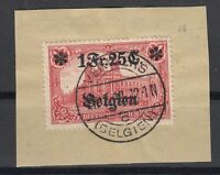 B2567/ BELGIUM GERMAN OCC – MI # 23 I A USED SIGNED – CV 165 $