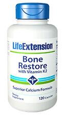 Bone Restore with Vitamin K2 - Life Extension - 120 Capsules