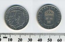 Sweden 2000 - 1 Krona Copper-Nickel Coin - King Carl XVI Gustaf