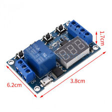 5v Micro Usb Led Automation Delay Timer Control Switch Relay Module Display