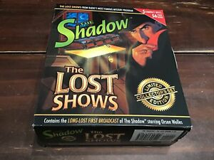 The Shadow - The Lost Shows - Limited Collector's Set Edition (5-Disc CD Set)