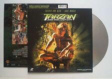 WB Laser Discs Tarzan and the Lost City mit Casper van Dien Laser Videodisc