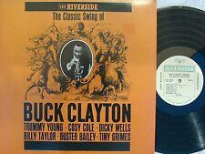Buck Clayton US Reissue LP Classic swing of NM Riverside OJC1709 MONO Jazz Swing