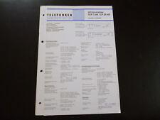 Original Service Manual  Telefunken Hifi Endverstärker STM 1 hifi CM 20 Hifi
