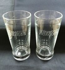 2 Limited Edition Heavy Based The Famous Grouse Whiskey Mixer Glasses  - NEW -