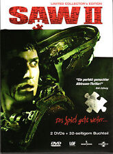 Saw 2 , 2 Disc - strong limited Mediabook Edition , uncut / r-rated , new