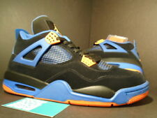 Nike Air Jordan IV 4 Retro CAVS LAST SHOT BLACK CEMENT GREY ORANGE BLUE WHITE 11