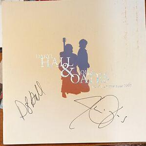 Hall & Oates Autographed Do It For Love Tour Program - 2003 - MINT