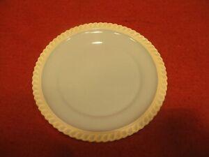 "Harkerware Chesterton Light Blue plate Gadroon Edge 7 1/2"" Harker"