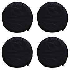 "4x 28"" Wheel Tire Covers For RV Trailer Camper Trailer Auto Car Truck Protecter"