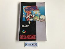 Notice - Mario Paint - Super Nintendo SNES - PAL FAH